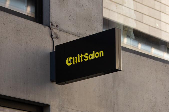 Cult Salon Portfolio Image
